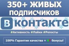 5000 качественных подписчиков в Инстаграм 16 - kwork.ru