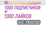 Продвижение Instagram в течение недели. Подписчики и лайки 3 - kwork.ru