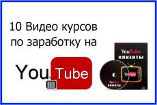 Реально быстрый старт заработка на youtube с нуля 4 - kwork.ru