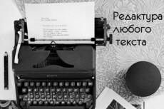 Сделаю художественное редактирование 3 страниц текста 9 - kwork.ru
