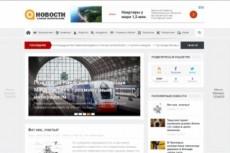 Финансовый сайт + 5000 новостей, автонаполнение 52 - kwork.ru