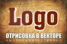 Отрисовка в векторе качественно - логотип, знак, эмблема 5 - kwork.ru