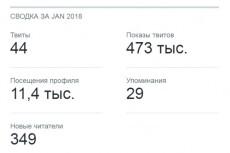 1000 подписчиков в Twitter. Безопасно. Офферы 12 - kwork.ru