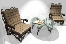 Моделирование мягкой мебели, элементов интерьеров 28 - kwork.ru