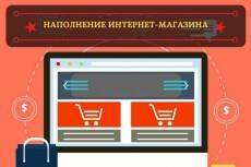 Выполню наполнение магазина товаром 23 - kwork.ru