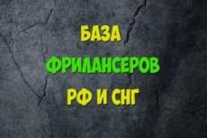 База для рассылки. Тематика инвестирование, бизнес - 1 млн 4 - kwork.ru