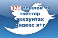 500 ссылок в Твиттер 10 - kwork.ru