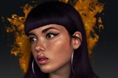 Нарисую портрет в стиле tumbler 20 - kwork.ru