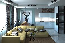 Дизайн интерьера торгового, коммерческого помещения 34 - kwork.ru