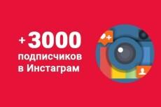 5000 русских подписчиков в Инстаграм. Раскрутка в instagram 20 - kwork.ru