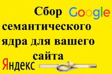 1000 целевых запросов для контекстной рекламы+объявления конкурентов 9 - kwork.ru