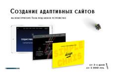 Визитка, Лендинг, Магазин 9 - kwork.ru