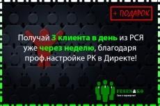 3 объявления РСЯ на 50 ключевых слов 11 - kwork.ru