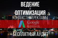 Ведение контекстной рекламы Google Adwords - 1 неделя 13 - kwork.ru