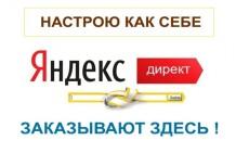 Настройка контекстной рекламы Яндекс Директ. Поиск, РСЯ, Ретаргетинг 21 - kwork.ru