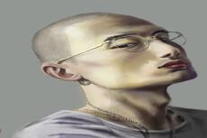 Нарисую вас в фотошопе 8 - kwork.ru