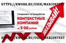 Только целевые посетители! Тщательный подбор и фильтрация ключевых слов 17 - kwork.ru