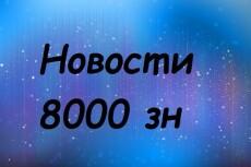 Новостной контент для сайта - 5 статей 7 - kwork.ru