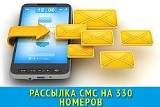Рассылка сообщений 11 - kwork.ru