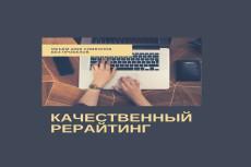 Напишу полностью оригинальный качественный текст 13 - kwork.ru