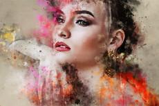 Нарисую стильный hand-digital портрет животных 21 - kwork.ru
