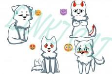 нарисую вас в аниме стиле 4 - kwork.ru