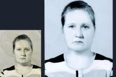 Реставрация и ретушь старых фотографий любой сложности 17 - kwork.ru