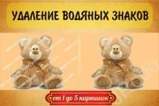 Уберу водяные знаки 20 - kwork.ru