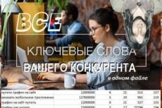 Соберу ключи для Сетей 25 - kwork.ru