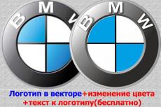 Разработаю 3 интересных логотипа+исходные файлы 5 - kwork.ru