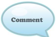 Оставлю на вашем сайте, блоге 50 осмысленных комментариев 8 - kwork.ru