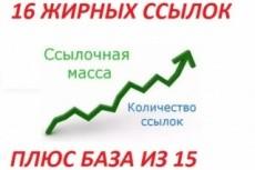 Размещу 10 мощнейших трастовых ссылок на ваш сайт (почти все сайты - ЯК+dmoz) 11 - kwork.ru