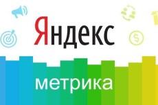 Внедрение Яндекс.Метрики на сайт и установка целей 21 - kwork.ru