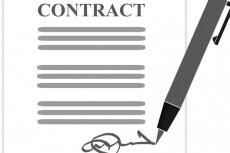 Составление и редактирование договора любой сложности 14 - kwork.ru