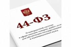 Госзакупки и корпоративные закупки. Консультация по 44-ФЗ, 223-ФЗ 7 - kwork.ru