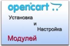 Установка модуля экспорта и импорта данных на сайт на Опенкарт 14 - kwork.ru