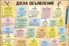 Размещу ваше объявление на 40 досках объявлений России 7 - kwork.ru