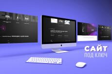 Дизайн страницы или сайта 9 - kwork.ru