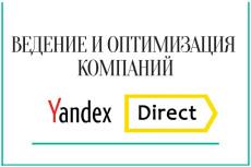 Ведение рекламной кампании в Яндекс директ 21 - kwork.ru