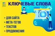 SEO оптимизация сайта - Title, Description, H1 для высокого CTR 9 - kwork.ru