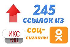 610 социальных сигналов на Ваш сайт. Ссылки из соц сетей 8 - kwork.ru