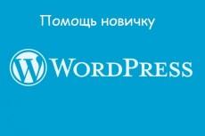 Научу создавать сайты на  WordPress 18 - kwork.ru
