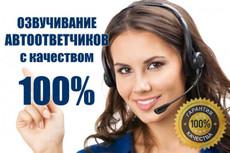 Озвучу женским голосом 5 - kwork.ru