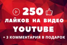 135 комментариев к видео YouTube 4 - kwork.ru