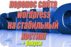 Перенесу сайт на другой хостинг, домен 40 - kwork.ru