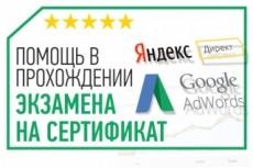 Видеокурс о настройке Яндекс.Директ 17 - kwork.ru