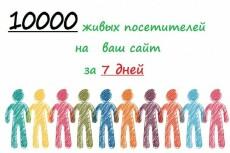 Подниму посещения на Ваш сайт 28 - kwork.ru