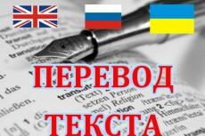 Выполню качественный перевод с английского на русский или украинский 18 - kwork.ru