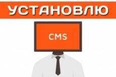 Установка любых CMS/Скрипт 4 - kwork.ru