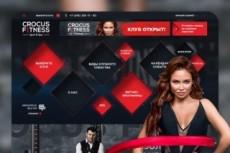 Разработка уникального UI - UX Wed Design страницы сайта от профессионала 3 - kwork.ru